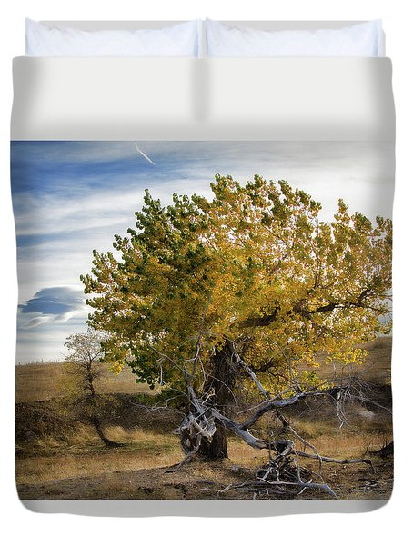 Painted By Nature Duvet Cover