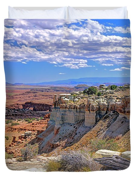 Painted Desert Of Utah Duvet Cover