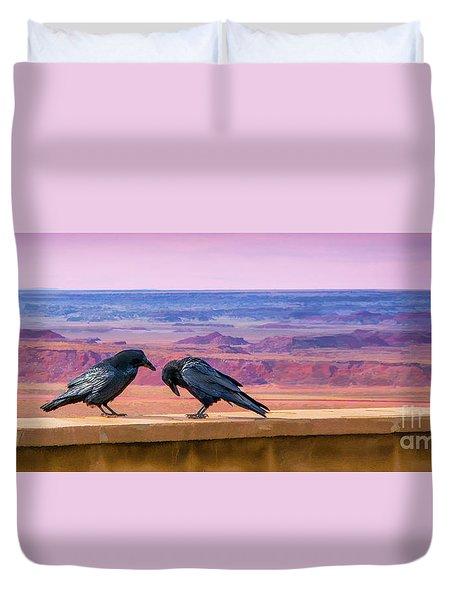 Painted Desert Pals Duvet Cover