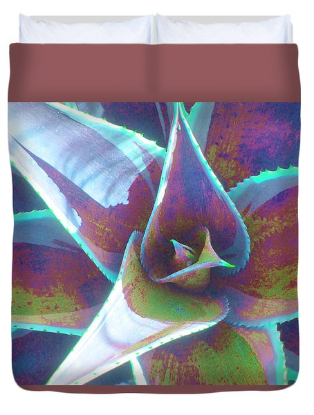 Painted Desert Duvet Cover by Vivien Rhyan