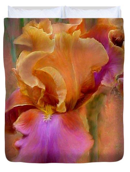 Painted Goddess - Iris Duvet Cover