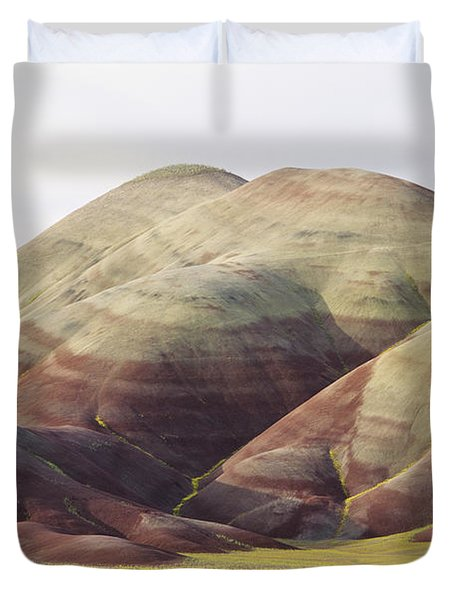 Painted Hills Duvet Cover by Greg Vaughn - Printscapes