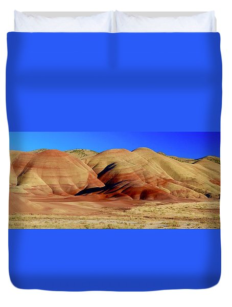 Painted Hills Pano Duvet Cover
