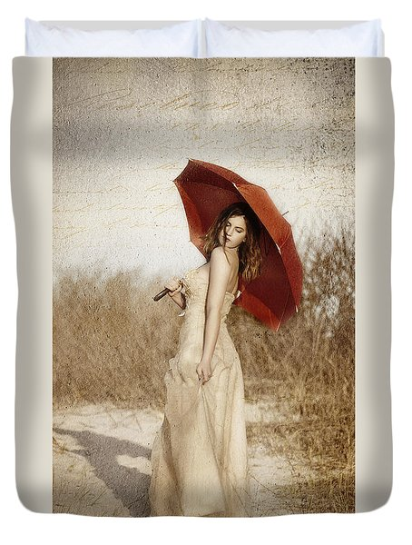 Painted Lady Narrow Duvet Cover