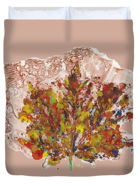 Painted Nature 3 Duvet Cover