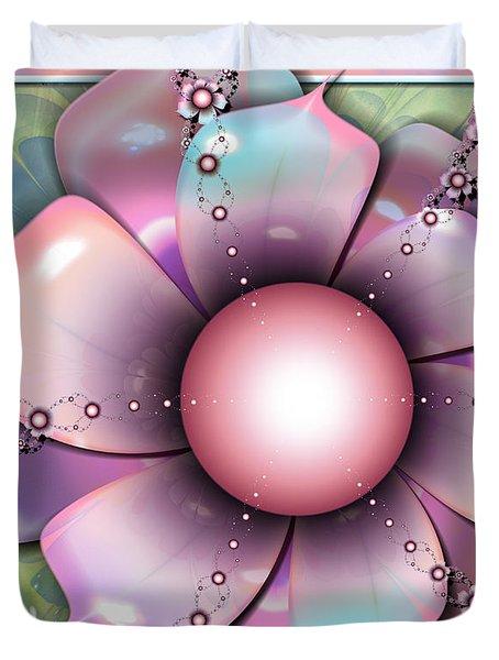 Painted Petals Duvet Cover