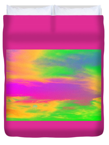 Painted Sky - Abstract Duvet Cover