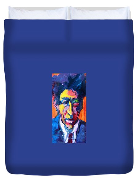 Painter Or Poet? Duvet Cover