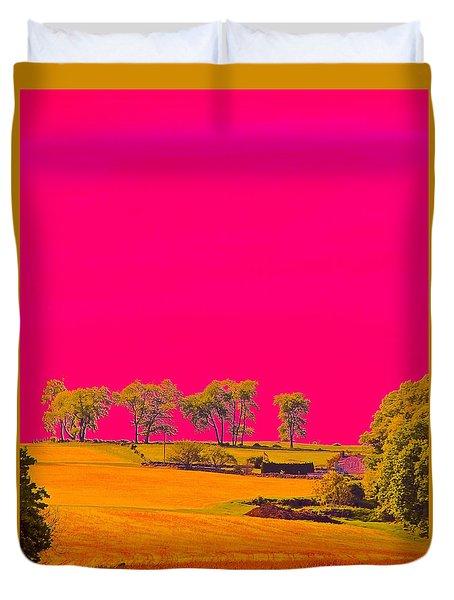 Painter Ridge Duvet Cover by Gillis Cone