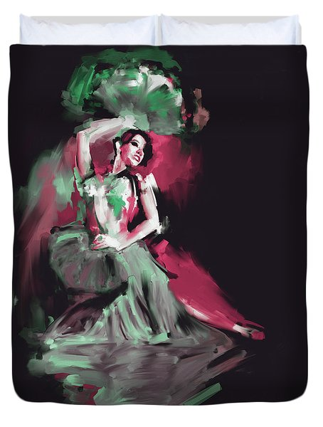 Painting 701 4 Dancer 6 Duvet Cover