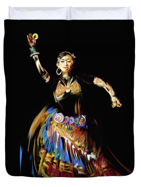 Painting 711 Dancer 16 Duvet Cover