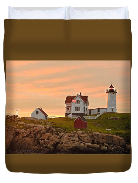 Painting The Skies Duvet Cover