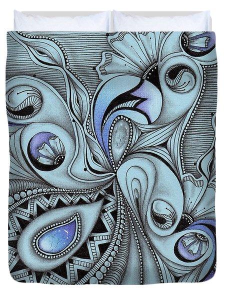 Paisley Power Duvet Cover
