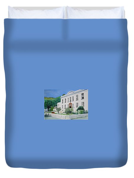 Palace Barracks Duvet Cover by Tim Johnson