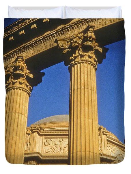 Palace Of Fine Arts, San Francisco Duvet Cover