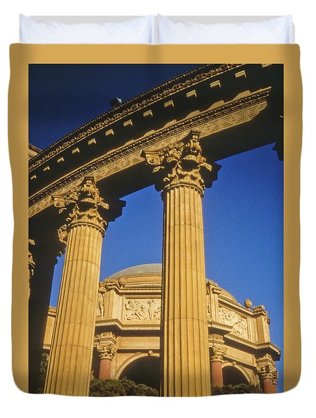 Palace Of Fine Arts, San Francisco Duvet Cover
