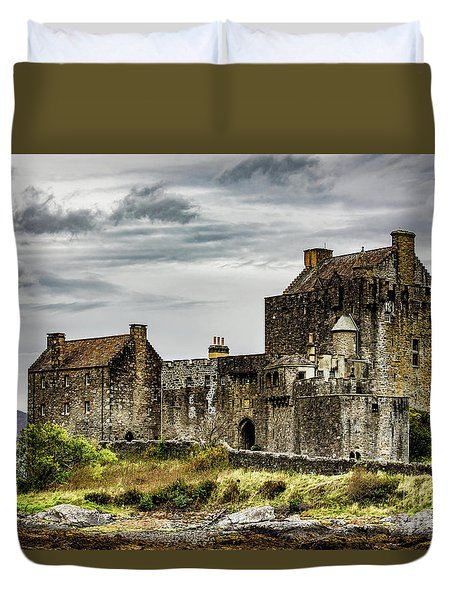 Duvet Cover featuring the photograph Palace Of Poetry by Anthony Baatz
