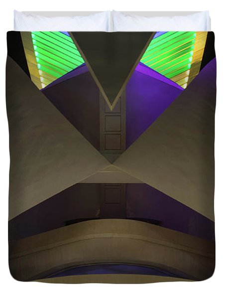 Palace Of The Arts Duvet Cover