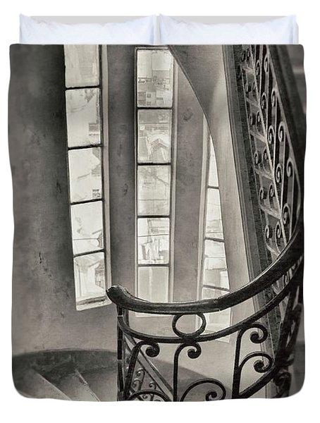 Palacio Barolo Stairs Buenos Aires Duvet Cover