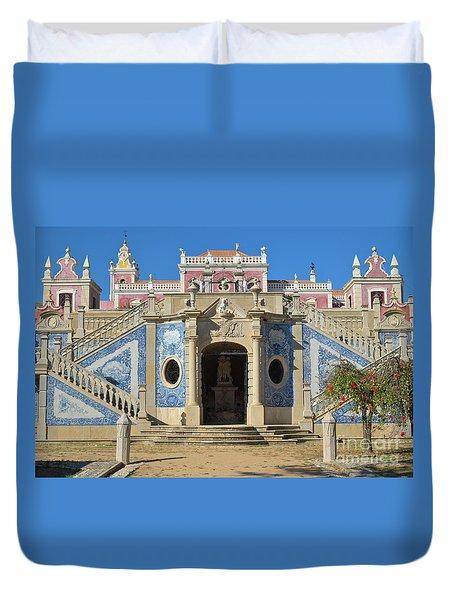 Palacio De Estoi Front View Duvet Cover