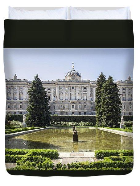 Palacio Real De Madrid Duvet Cover by Ross G Strachan