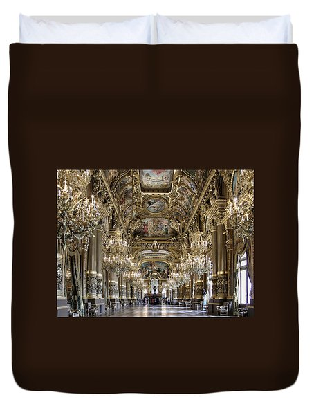 Palais Garnier Grand Foyer Duvet Cover