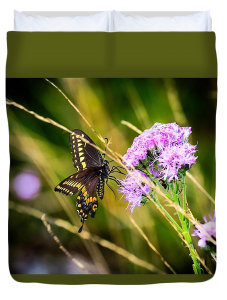 Palamedes Swallowtail Duvet Cover