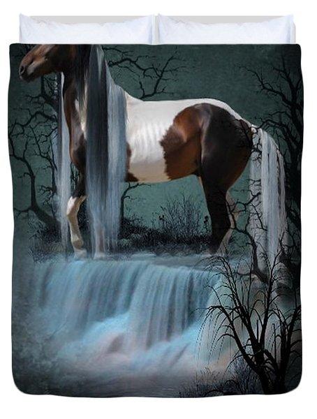 Pinto  Falls Duvet Cover