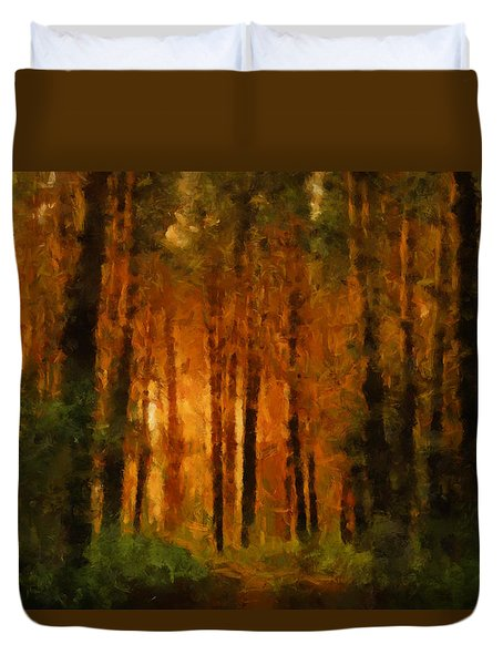 Palava Valo Duvet Cover by Greg Collins