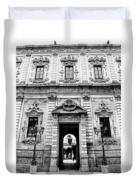 Palazzo Dei Celestini Duvet Cover