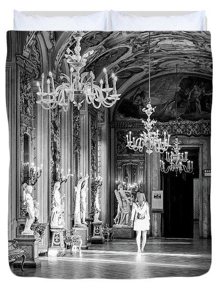 Palazzo Doria Pamphilj, Rome Italy Duvet Cover