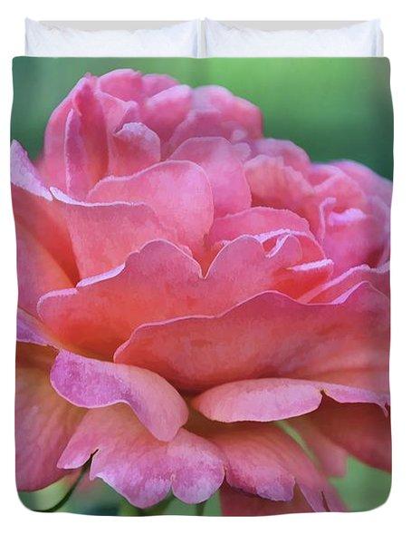 Pale Blush Duvet Cover