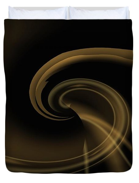 Pale Darkness - Abstract Duvet Cover