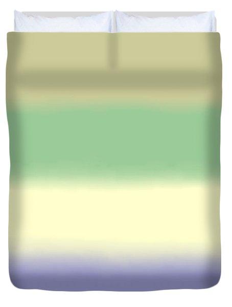 Pale Iris - Sq Block Duvet Cover