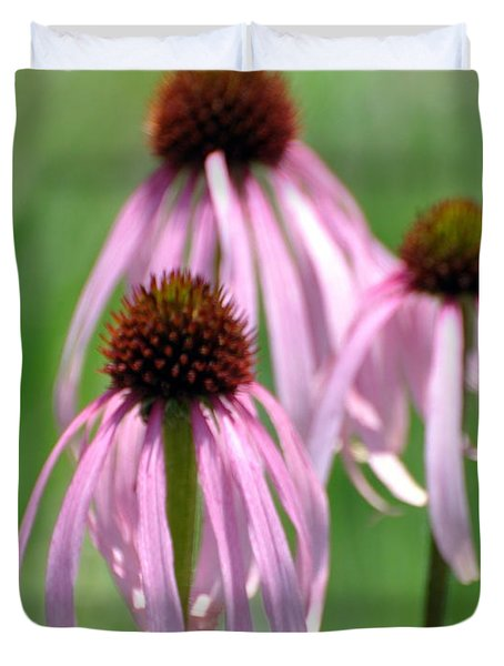 Pale Purple 3 Duvet Cover by Marty Koch