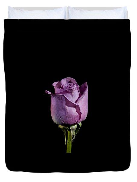 Pale Purple Rose Duvet Cover