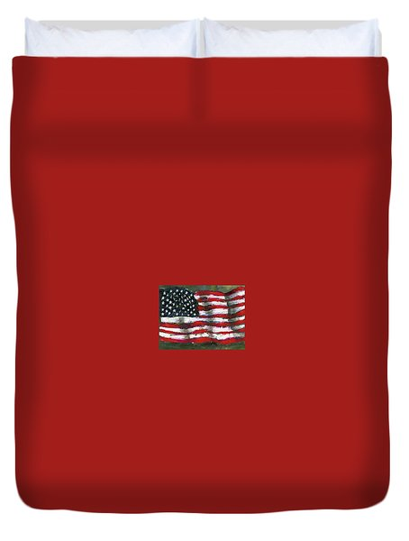 Palette Flag Duvet Cover