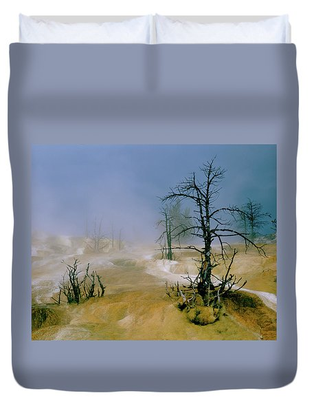 Palette Spring Duvet Cover by Ed  Riche