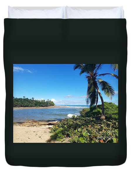 Palm Cove Duvet Cover