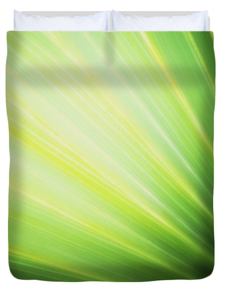 Palm Fronds Duvet Cover