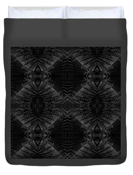 Palm Leaf Design Duvet Cover