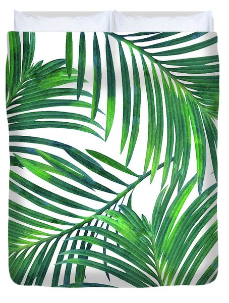 Palm Paradise Duvet Cover