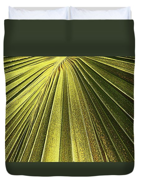 Palm Patterns I Duvet Cover