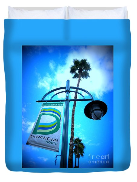 Palm Springs North Duvet Cover