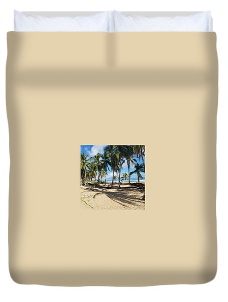 Palm Tree Family Duvet Cover