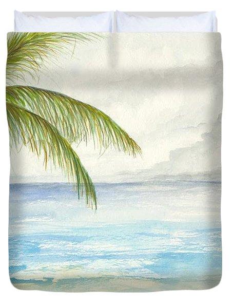 Palm Tree Study Duvet Cover