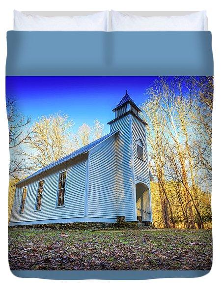 Palmer Chapel Methodist Church Duvet Cover
