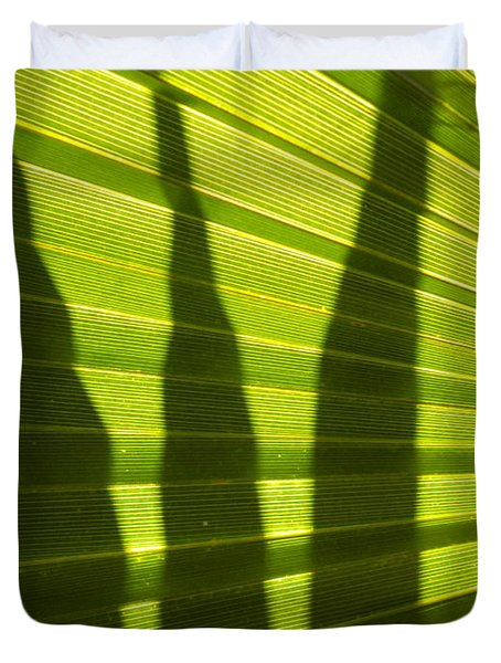 Duvet Cover featuring the photograph Palmetto 4 by Renate Nadi Wesley