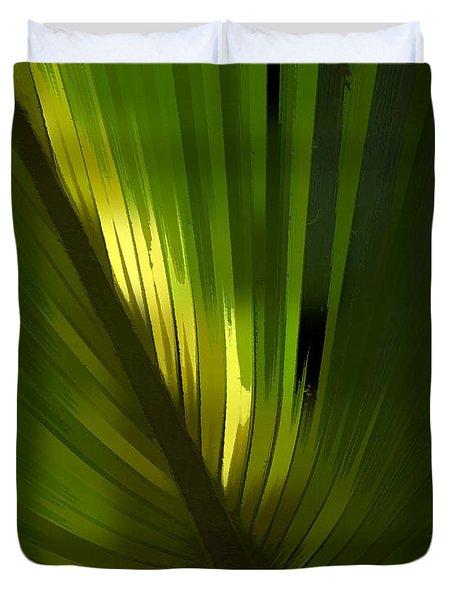 Palmetto Embrace Duvet Cover
