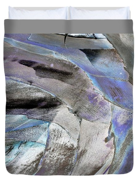 Layered Colors Duvet Cover